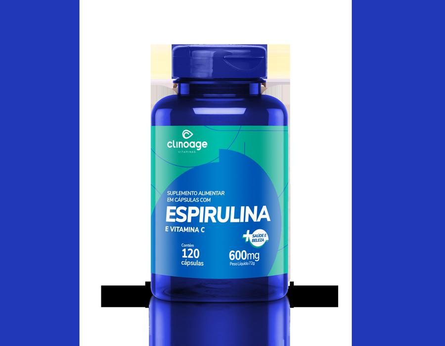 ESPIRULINA E VITAMINA C